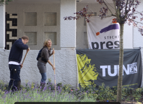 Start project Sociaal Tuinieren Amsterdam Betondorp in 2011