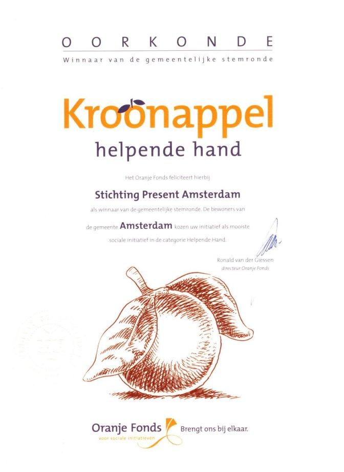 Sociaal Tuinieren project winnaar gemeentelijke stemronde Kroonappels
