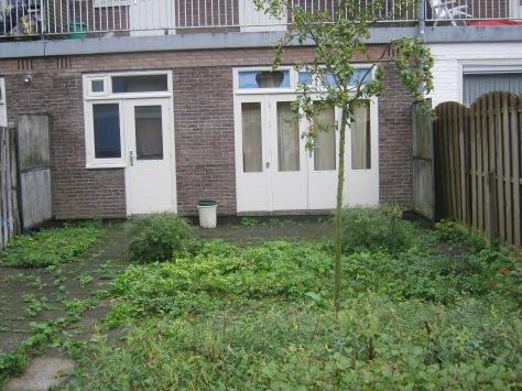 tuin die onderhanden genomen moet worden