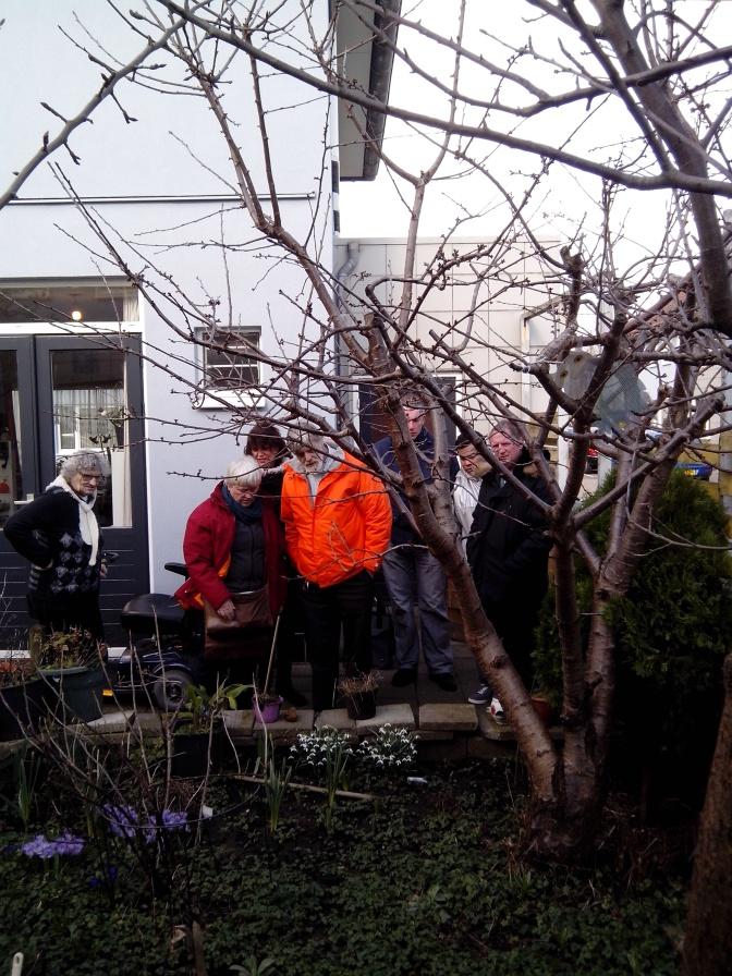Trainingen tuinonderhoud voor vrijwilligers Sociaal Tuinieren
