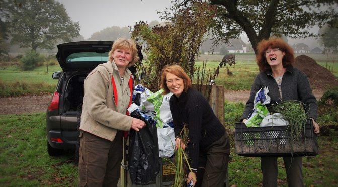 Grote plantendonatie voor Sociaal Tuinieren van kwekerij Het Nieuwe Veld