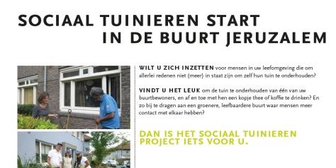 Flyer Sociaal Tuinieren