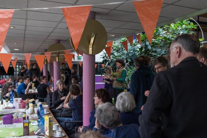 Bijzondere herdenkingsdag in wijk Jeruzalem: tuinieren verbindt