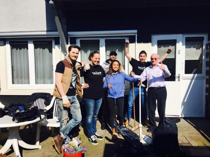 Wiltfang sponsort Sociaal Tuinieren tijdens 5 jarig jubileum project in Betondorp